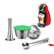 Refillable Coffee Capsule For NESCAFE DOLCE GUSTO Reusable Coffee Pods Tamper