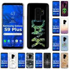 Thin Gel Design Phone Case Cover for Samsung Galaxy S9 Plus,Weed Stylish Print