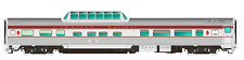 RAPIDO 1/87 HO CANADIAN PACIFIC BUDD MID-TRAIN DOME CAR # 517  ITEM # 116017 F/S