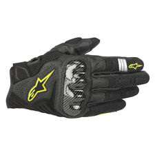 Alpinestars SMX-1 V2 Air Motorbike Motorcycle Sports Gloves Black Fluo Hi vis