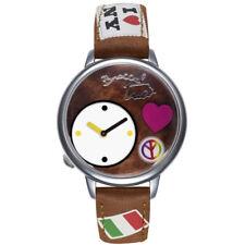 Orologio Braccialini Luggage Tua179/uu Marrone Bandiere NY Pace