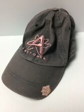 Albuquerque Isotopes Gray And Pink Hat Adjustable Minor League Baseball Cap
