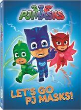 PJ Masks: Let's Go PJ Masks [New DVD] Widescreen