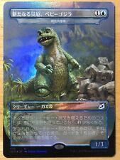 FOIL Babygodzilla, Ruin Reborn Japanese Ikoria Pollywog Symbiote Godzilla mtg NM