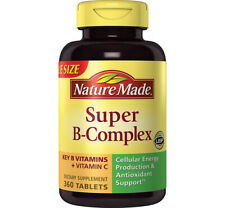 Nature Made Super B-Complex key B vitamins and vitamin C 360 ct