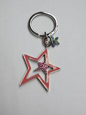 Swarovski 1133835 Maribelle Lucky Star Motif Fuchsia Key Ring Genuine/Authentic