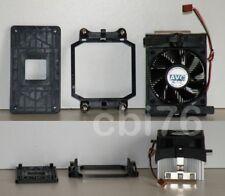 Kit ventirad (ventilateur+radiateur) AMD socket AM2/AM3 +contreplaque +pate