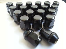 20-Tapered Black Wheel Nuts-12x1.5mm Thread - Suit all Commodores from VB to VZ