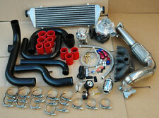 EG EK DC2 B16 B18 B20 BLOT-ON TURBO KIT+ ALUMINUM INTERCOOLER PIPING SQV FLANGE