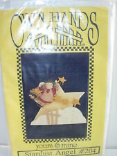 FOLK ART PATTERN CHRISTMAS ANGEL TOLE PAINTING PROJECT HOLIDAY TOLEWARE CRAFTS