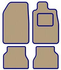 Triumph Herald / Vitesse  Velour Beige/Blue Trim Car mat set