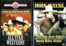 All Star Westerns & John Wayne: The Man From Utah & Randy Rides Again