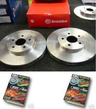 DISCOVERY 05-ON BREMBO FRONT DISCS EBC GREENSTUFF PADS