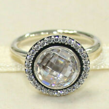 New Authentic Pandora Brilliant Legacy Ring Multiple Size 190904CZ W Hinged Box