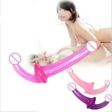 Double Ended Dildo-Dual Sided-Headed Penetration Dong For WOMAN OR COUPLES BIG!
