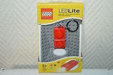 PORTE CLE LED LITE BRIQUE LEGO KEY LIGHT LAMPE POCHE NEUF LUZ CLAVE