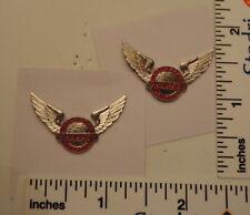 TWO Old Limited Edition NBA Basketball Pins - Atlanta's Air Force HAWKS
