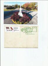 Confederate Monument Demopolis Alabama  postcard