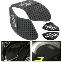 Tank Traction Side Pad Gas Fuel Knee Grip Decal Fit Kawasaki Ninja 250 300 13-17