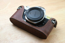Genuine Leather Half Case Cover For Pentax MX ME super Camera Protector