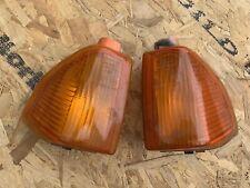 Ford Escort Mk4 Series 2 Orange Amber Front Indicators