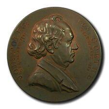 Germany Johan Wolfgang von Goethe 51mm 1899  Bronze Frankfurt