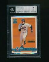 2000 Paramount Platinum Blue /67 #153 Mike Piazza Mets BGS 9
