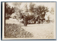 Egypte, Femme de Gournah (شيخ عبدالقرنة) Vintage citrate print Tirage cit