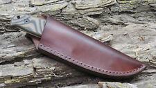 """17/"""" acolchado de cremallera plegable cuchillo de hoja fija personalizada de Almacenamiento Estuche Petaca Funda Nuevo"""