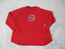 VINTAGE Ralph Lauren Polo Sport Long Sleeve Shirt Adult 2XL XXL Motorcycle 90s *