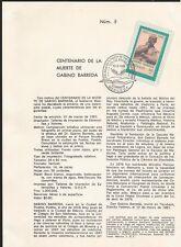 L) 1981 Mexico, Centennial Of The Death Of Gabino Barreda, Of Moral Education