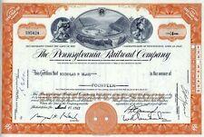 The Pennsylvania Railroad Company, 1962 (14 Shares)
