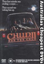 CHUD II:  Bud THE CHUD DVD NEW, FREE POSTAGE WITHIN AUSTRALIA REGION ALL