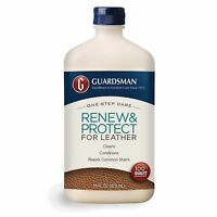 Guardsman Renew  Protect for Leather 16 oz - Cleans, Conditions  Protects in One