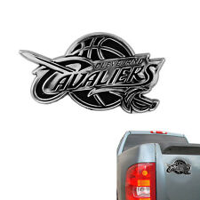New NBA Cleveland Cavaliers Chrome Plastic 3D Car Truck Emblem Sticker Decal