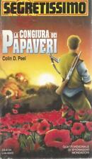 (Colin D. Peel) La congiura dei papaveri 1994 Mondadori segretissimo 1252