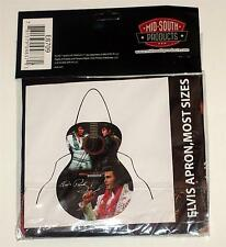 ELVIS PRESLEY King of Rock and Roll GUITAR Shaped WORK UTILITY KITCHEN APRON New