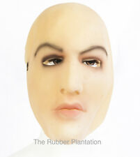 Female Face Latex Mask Fancy Dress Halloween Costume Living Dolls Crossdresser