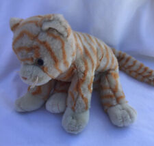 Vintage, TY Beanie Buddies Collection Ginger Stripey Cat