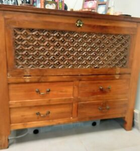 Sideboard. Solid wood. Made in Malaysia. Can be put to multiple uses.