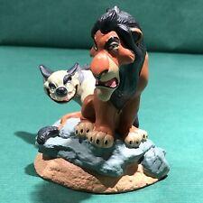 Disney Lion King Scar & Ed Hyena Figure Li'l Classics Figurine Disney Store Pvc