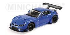 BMW Z4 GT3 Street 2012 blau 1:18 Minichamps  neu & OVP 151122302