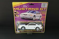 Lanard Supershots Pull Cord White Ford Mustang GT Ripcord Motor Sounds 1995 NEW