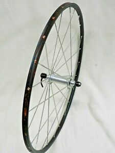 """24"""" Time Trial Front Wheel,  Assos Pat. P, American Classic, 24 DT Bladed Spokes"""