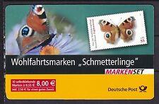 Gestempelte Briefmarkenheftchen aus der BRD (ab 1945) mit Schmetterlings-Motiv