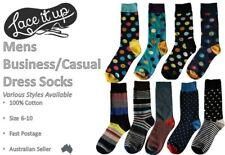 Mens Cotton Business Dress Socks - Patterns / Colours Size 6-10 Only $5.95 Each