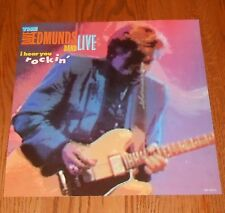 The Edmunds Band Live I Hear You Rockin' Poster Flat 1987 Promo 12x12 Rare