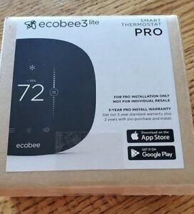 Ecobee3 Lite Pro Wi-Fi Smart Thermostat Black EB-STATE3LTPB-01