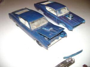 1969 69 Ford Torino kits original model Car 1/25  Built  vintage
