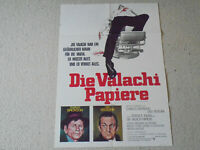 Charles Bronson, Die Valachi Papiere - Original Filmplakat A1